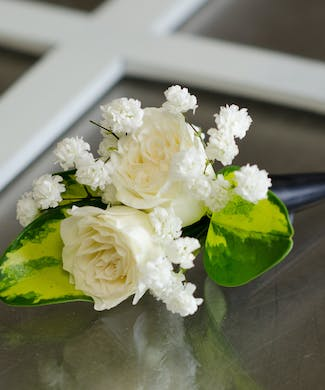 Whipped Dreams Boutonniere