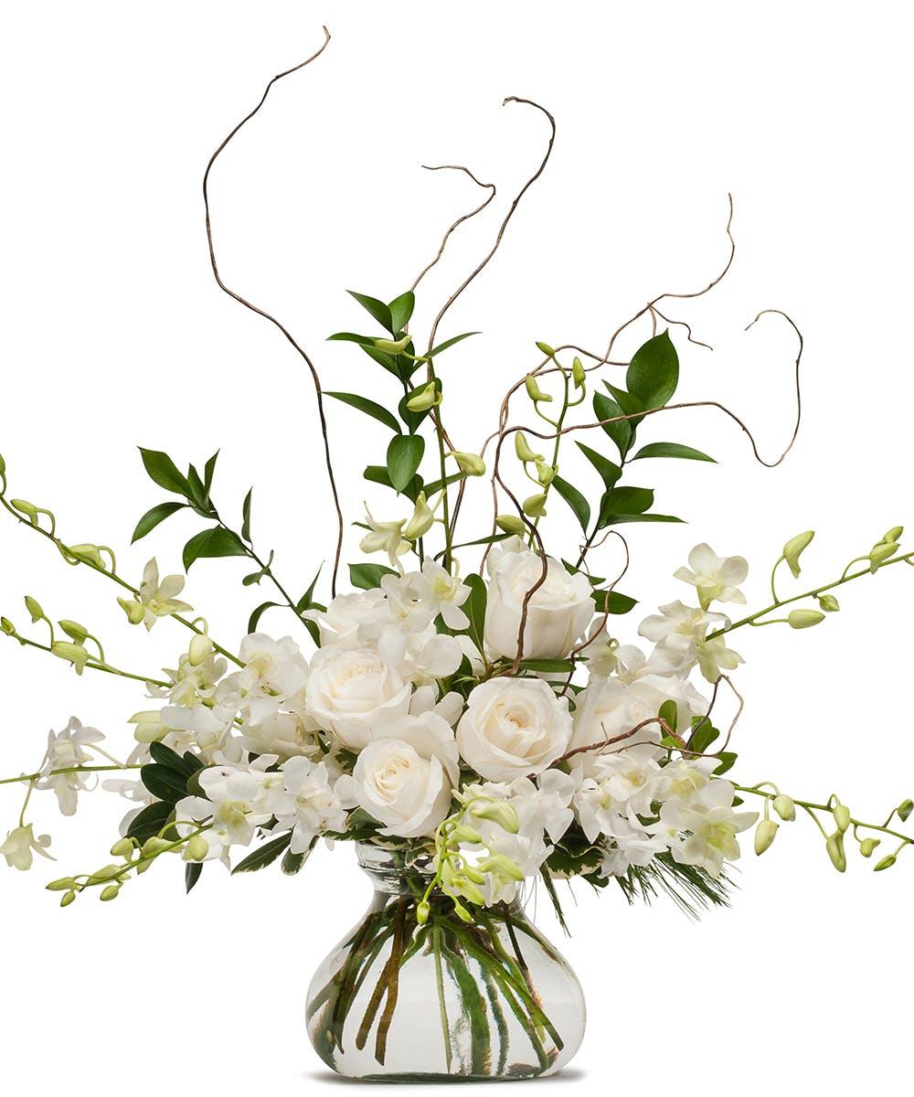 White Elegance Fargo Luxury Flower Delivery